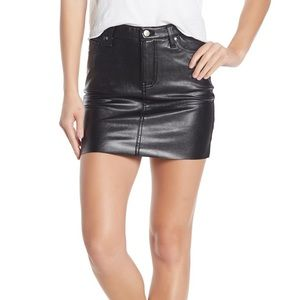 Love Fire Nordstrom Faux Leather Skirt